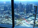 View from Melbourne Skydeck