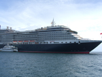 The Queen Victoria cruise liner