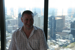 Me on the 88th floor, Skydeck building