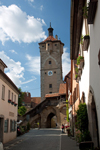 Entrance tower, Rothenburg ob der Tauber