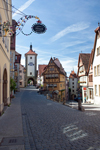 One of the most photographed views in Rothenburg