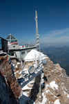 View of the Zugspitze summit