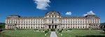 Panoramic view of the Wurzburg Residence palace
