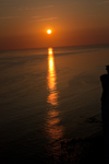 Sunset photos, Beachy Head, Sussex