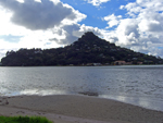 Tairua inlet with the Pacific beyond