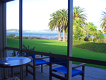 View from my hotel room in Paihia, Bay of Islands