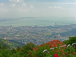View from the top of Penang Hill