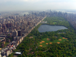 Central Park and Manhattan skyline looking south